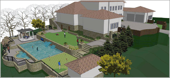 Photo of Land & Water Design, Inc. 3D Perspective