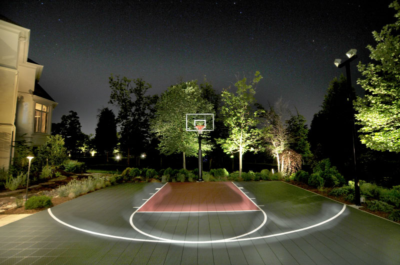 Sport Court in Potomac MD