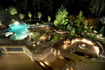 Ultimate Luxury Pool & Backyard in Potomac, MD