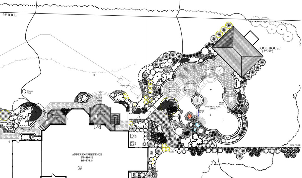 Clifton Landscape Plan Drawing