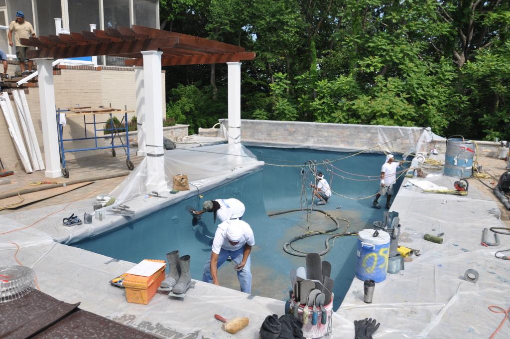 Maryland Pool Progress